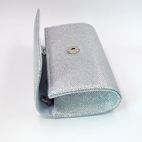 Millya, Poschette giorno donna, Sliver (argento) - kb-00191-02 Sliver