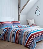 ShawsDirect BHS Torquay Stripe Quilt Cover | King | FREE P&P