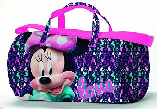 CORIEX Loving Disney Minnie Bolsa de Deporte, Infantil, Multicolor, Medium