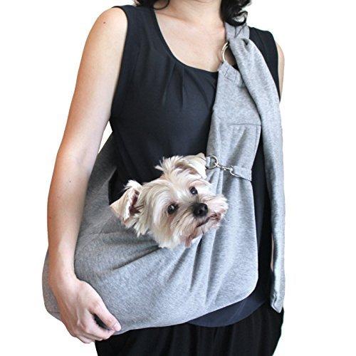Welpen für kleine Hunde Hug String String Dollar Ring Tasche Sling Pet Pet Tragen Karriere Denim oder Fleece Schulterriemen Länge verstellbar Typ -