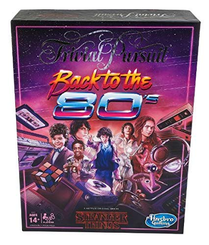 Hasbro Gaming Trivial Pursuit Netflix 's Stranger Things Back to The 80er Edition: Adult and Teen Party Brettspiel