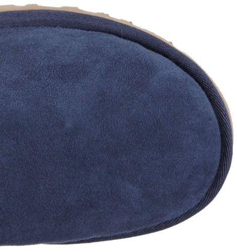 UGG  W Bailey Bow, Bottes à enfiler femme Bleu - Blau (NAVY)