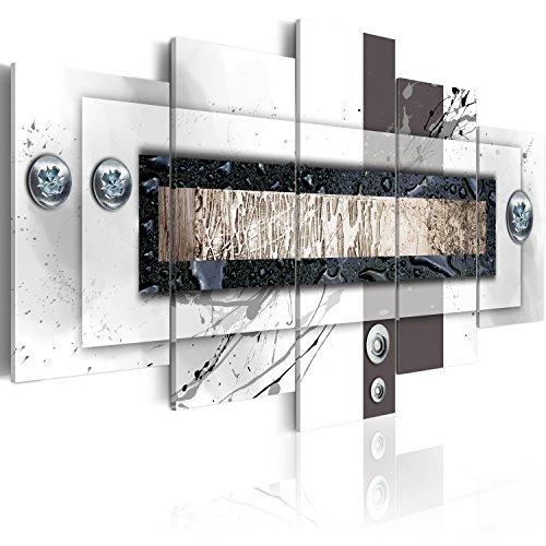murando - Cuadro en Lienzo 200x100 - Impresión de 5 Piezas Material Tejido no Tejido Impresión Artística Imagen Gráfica Decoracion de Pared Abstracto 020101-157