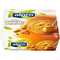 Alpro Soja Caramelo Postre 4 X 125 G - (Paquete de 4)