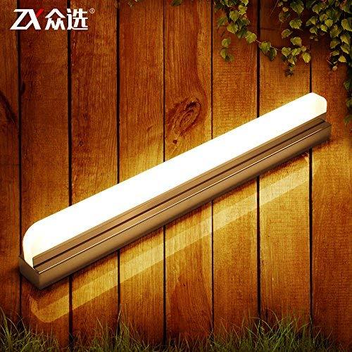 Minimalistische Wandleuchte E26 / 27 Spiegel-LED-Spiegelfrontleuchten, minimalistische moderne...