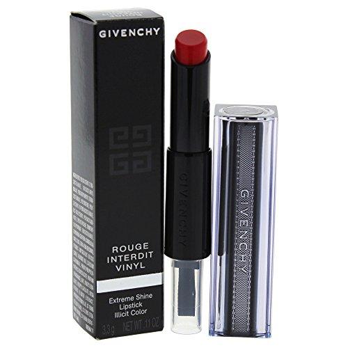 Givenchy Rouge Interdit Vinyl Lippenstift, N°11 Rouge Rebelle, 3er Pack (3 x 3 g) - Givenchy Interdit Rouge