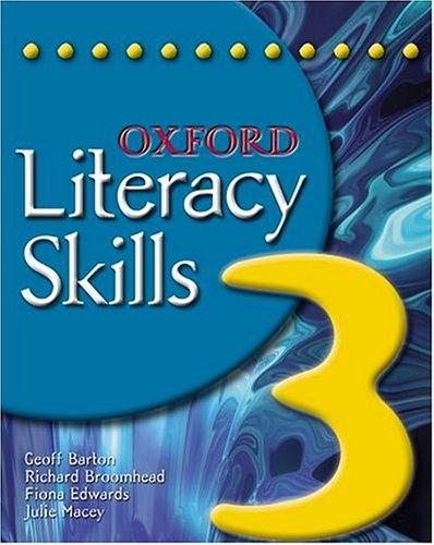 Oxford Literacy Skills: Book 3