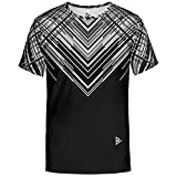 Blowhammer Camiseta de Hombre - Hyperspace Black tee - M