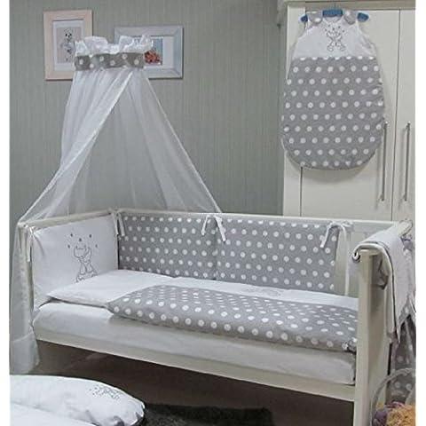 Café con diseño de bebé juego de ropa de cama