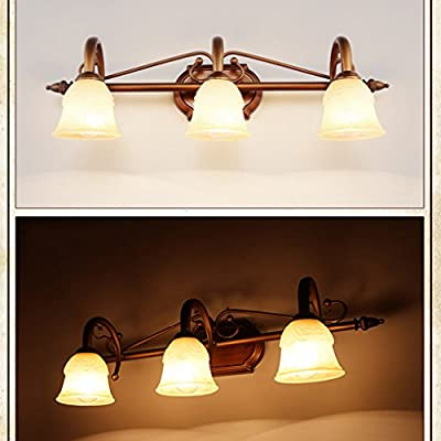 Jia Xin Duo LED mirror lights Continental American bathroom mirror front lamps bathroom vanity lighting fixtures