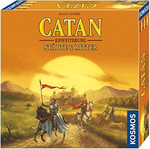 KOSMOS Catan - Erweiterung Städte & Ritter 3-4 Spieler