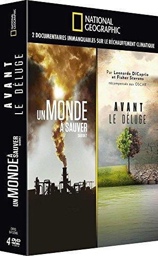 National Geographic: Avant le Deluge + Un Monde a Sauver - Coffret 4 DVD