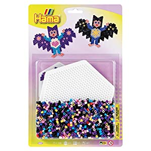 Hama Blister con Hexagonal - Tablero (tamaño Grande), Multicolor