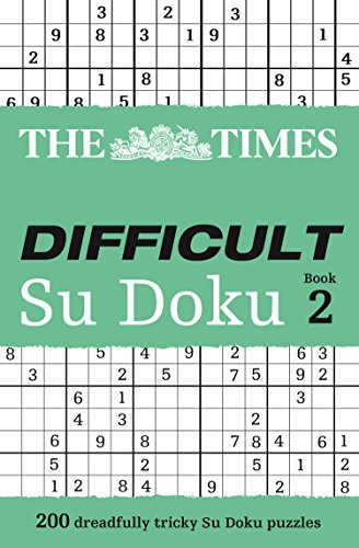 The Times Difficult Su Doku Book 2: Bk. 2