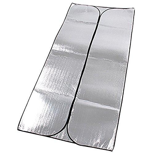 Outdoor tapis humidité pad d'épaississement de pique-nique, des tentes, des nattes, en aluminium double face