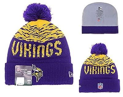 Strickmütze für NFL Minnesota Vikings Beanie/Sporthut/Lauf Hut/Teamhut