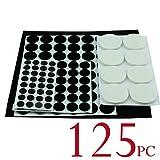 125pcs Protector de suelo Muebles almohadillas