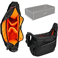 Duragadget Sacoche/Besace de Transport pour Creative Nuno Micro/Nuno, Sound Blaster Roar 2 & Roar Pro Enceintes Portables, par