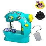 Multifunktions Haushalt Nähmaschine Elektrische Mini Kleine Tragbare Miniatur Kinder Spielzeug Nähmaschine ohne Bord