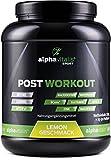 POST WORKOUT Shake mit Maltodextrin, Whey Protein, BCAA, Creatin, L-Glutamin, Magnesium uvm. - 750g - Grapefruit - Die wichtigsten Nährstoffe nach deinem Workout! (Lemon, 1500g)