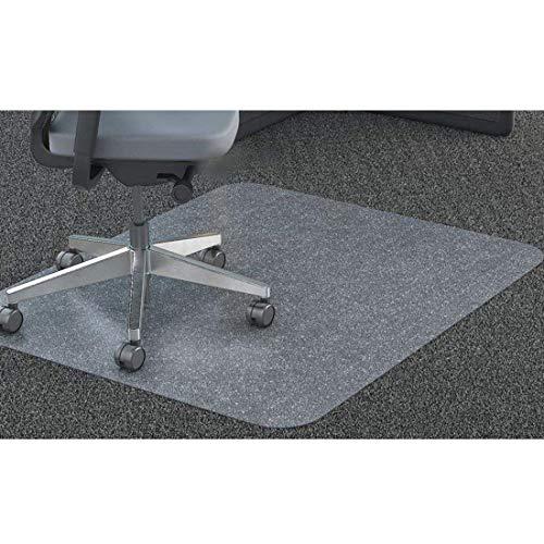 GIOVARA Claro Silla Alfombrilla para alfombras de Pelo Low-Medium Suelos, Rectangular, Material de Alta...