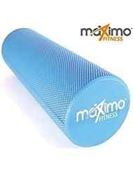 Rouleau de mousse–EVA–Superbe Muscle Roller–Trigger Point–15cm * 45cm–Idéal pour gym, Pilates, yoga–Guide de démarrage rapide gratuit–Garantie à vie.