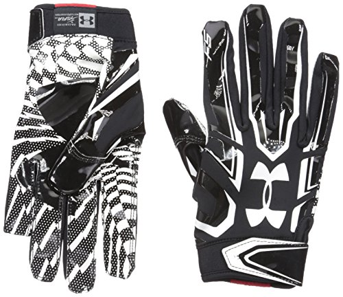 Under Armour F5 American Football Receiver Handschuhe - schwarz Gr. L