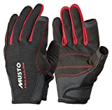 Musto Essential Sailing Long Finger Gloves BLACK AS0803 Sizes- - Medium