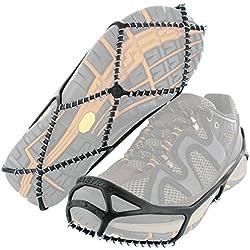 YAKTRAX - Walk - Dispositifs Conçus Pour Vous Stabiliser Dans La Neige Et Sur La Glace -Idéal Pour La Ville - S'adaptent A La Plupart Des Chaussures - Taille M