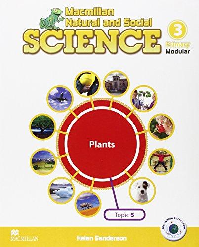 MNS SCIENCE 3 Unit 5 The Plants - 9788415836223