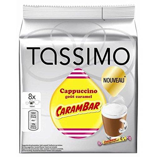 Tassimo cappucino carambar x8 - ( Prix Unitaire ) - Envoi Rapide Et Soignée
