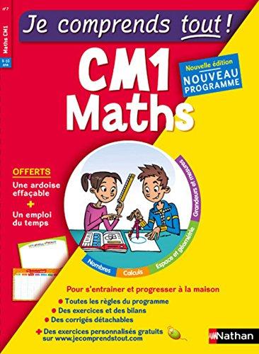 Je comprends tout - Mathématiques - CM1 - Nouveau programme 2016 par Isabelle Petit-Jean
