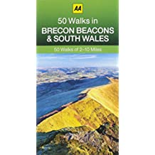 50 Walks in Brecon Beacons & South Wales (AA 50 Walks series)