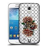 Head Case Designs Tiger Druck Modische Patches Ruckseite Hülle für Samsung Galaxy S4 Mini I9190