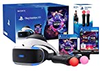PlayStation VR 'Starter Music Pack' + VR Worlds + Mandos Move Twin pack + Camara V2 + Track-Lab