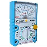 XRFHZT Multimètre, Compteur à 24 Vitesses Compteur Anti-Fausse Compteur électrique de Trois mètres Multimètre à Aiguille Type Anti-Combustion