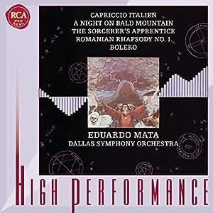 High Performance - Eduardo Mata (Aufnahmen Dallas 1980 und 1981)