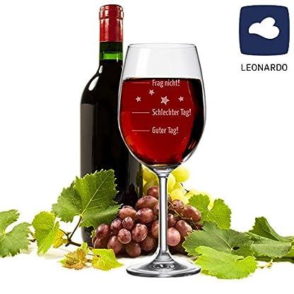 XXL-LEONARDO-Weinglas-Guter-Tag-Schlechter-Tag-Frag-nicht-630-ml-mit-Gravur-Rotweinglas-Weiweinglas-lustige-Geschenkidee-Weihnachtsgeschenk-witziges-Geburtstagsgeschenk-fr-sie-ihn-Marke-LEONARDO