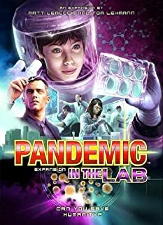 Z-Man Games ZMG71102 Pandemic Expansion: In the Lab (B00CE3IA44) | Amazon Products