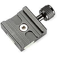 Neewer 50 mm aluminio estilo Arca placa de liberación rápida abrazadera