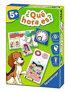 RAVENSBURGER- Juego Educativo, øQué Hora es (24124), Multicolor
