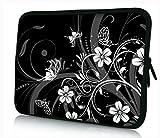 13-13.3 Zoll Tablet Hülle, laptoptasche - zoll Fall Neopren für Notebooks Dell HP Macbook Samsung Apple Toshiba (13 black4b)