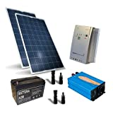 Kit solare Baita Base 520W Impianto Fotovoltaico Stand-Alone Isola