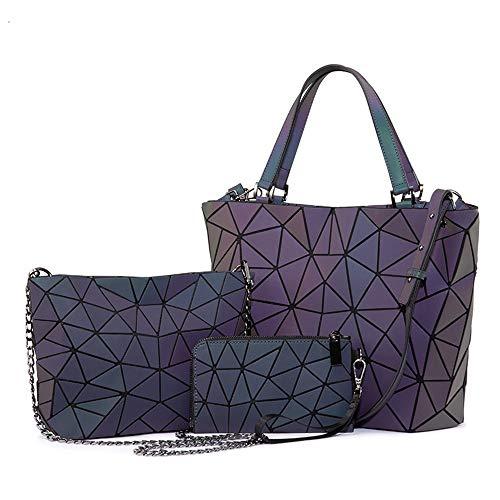 a8d42f491e88 Frau Handtaschen Designer-Taschen Umhängetasche Falttasche Messenger Tasche  Damen Portemonnaie Leuchtfarbe (Color : Luminous Color, Size : A)