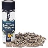 Garcinia Cambogia, 100% reine & natürliche Pulverkapseln aus ganzen Früchten , 140 vegetarische und vegane, hochwirksame, Appetit zügelnde, Fett verbrennende Diätpillen, entwickelt für gesunde Gewichtsabnahme, frei von Gluten, Milch, Weizen und Koffein plus zusätzlichem Kalium, Kalzium und Chrom für die besten Ergebnisse, sicher in Großbritannien hergestellt nach den höchsten GMP-Standards von Exzo. Bild 2