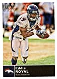 2010 Topps Magic Football Card # 141 Eddie Royal - Denver Broncos - NFL Trading Card in soft sleeve and/or top load!