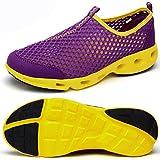Odema Men Women Breathable Mesh Slip On Water Shoes Walking Sneakers