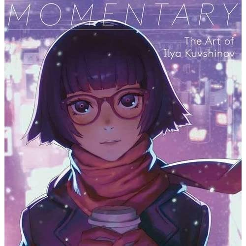 Momentary the art of Ilya Kuvshinov : Edition en anglais-japonais