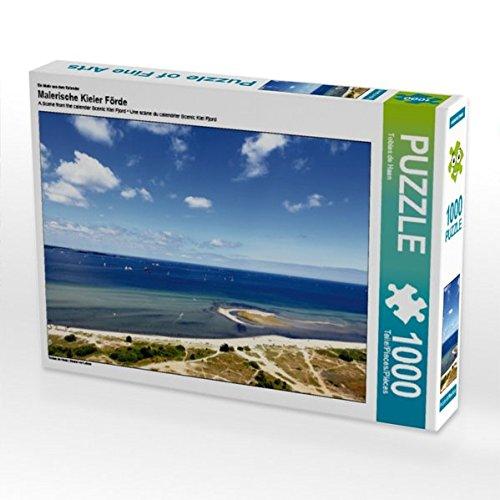 Ein Motiv aus dem Kalender Malerische Kieler Förde 1000 Teile Puzzle quer: Strand vor Laboe (CALVENDO Orte)
