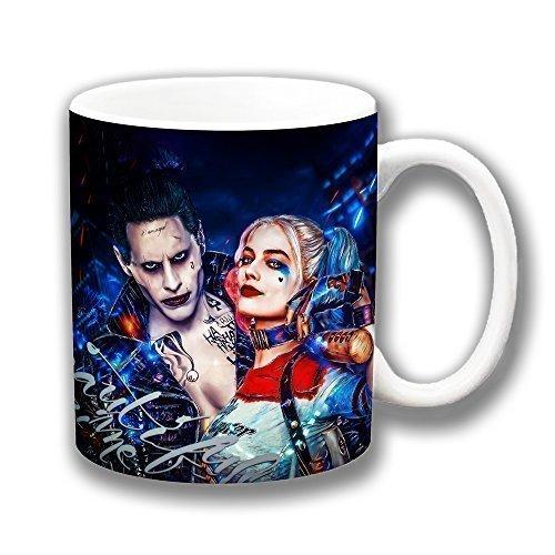 Selbstmord Kader Film 'Harley Quinn & Joker' Kaffee Tasse Weihnachtsgeschenk Strumpf Füller